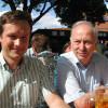 Auf dem Lindenblütenfest in Waigolshausen mit dem SPD-Kreisvorsitzenden und Bürgermeister Peter Pfister